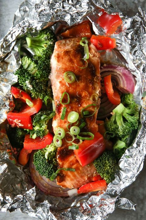salmon traybake recipes