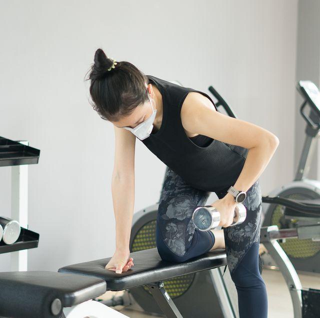 coronavirus study gyms reopening, women's health uk