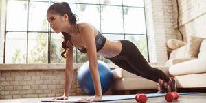 home gym equipment - women's health uk