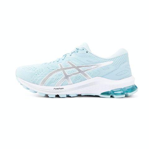 asics gt1000 dames hardloopschoenen blauw sportschoenen schoenen hardlopen