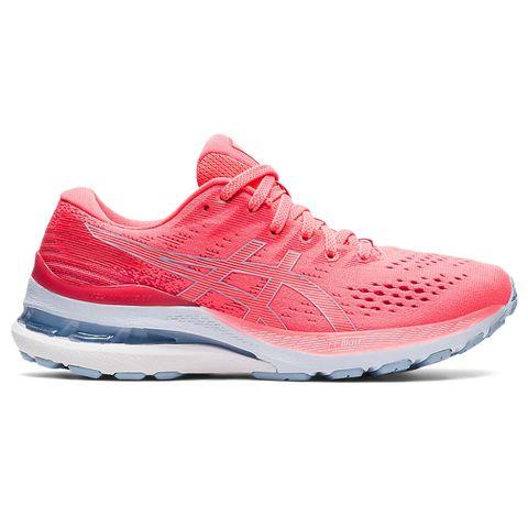asics gel kayano™ 28 hardloopschoenen schoenen hardlopen roze sportschoenen dames
