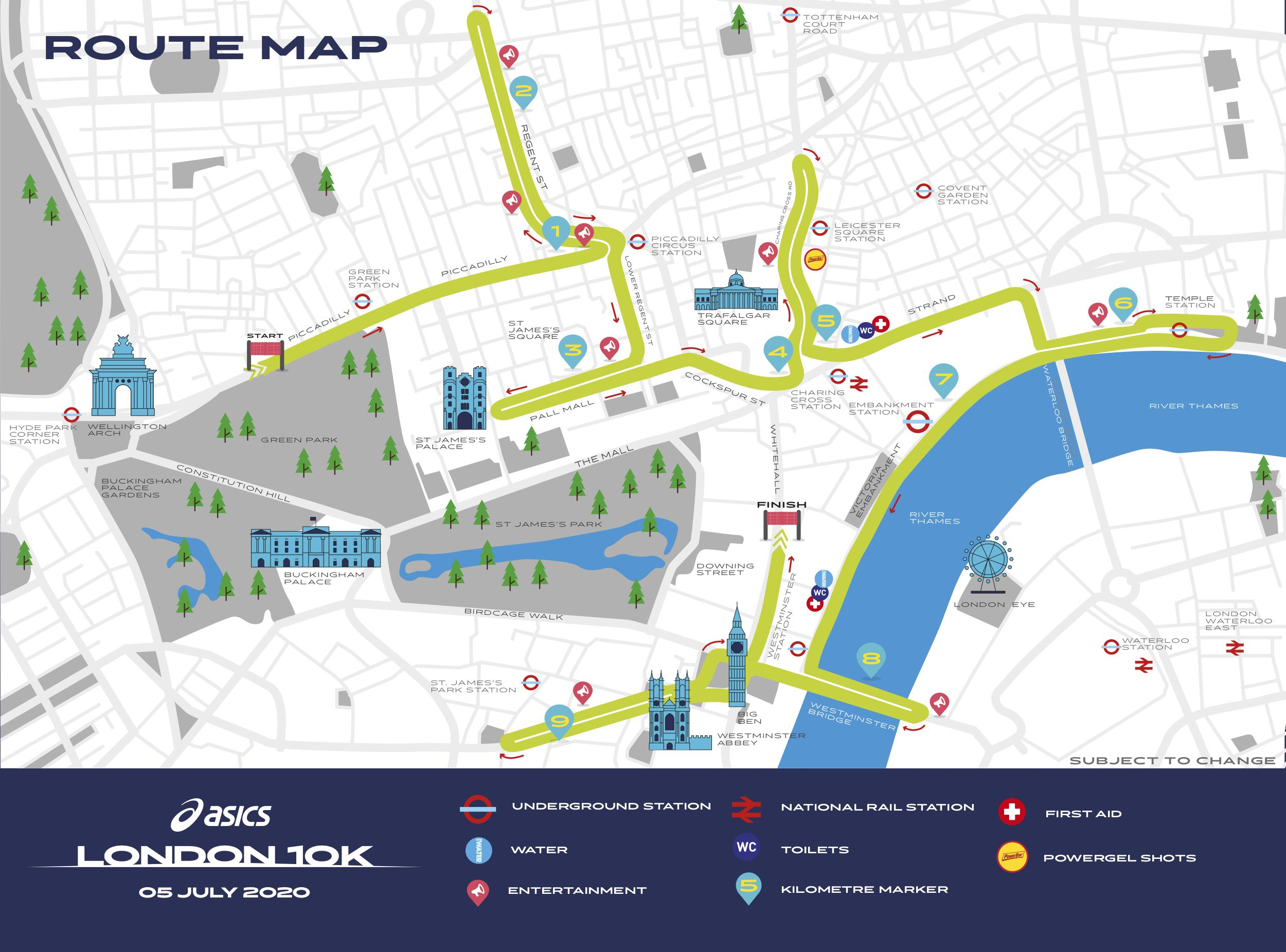 How to sign up for the 2021 London 10K