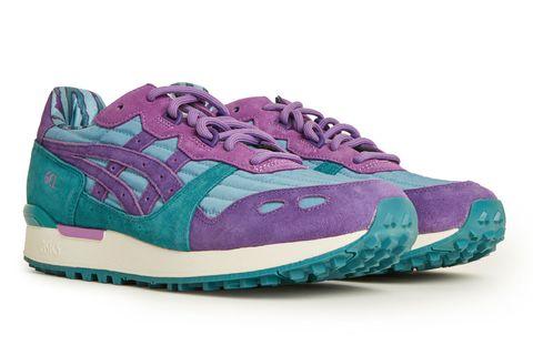 Footwear, Sneakers, Shoe, Violet, Purple, Aqua, Turquoise, Outdoor shoe, Running shoe, Teal,