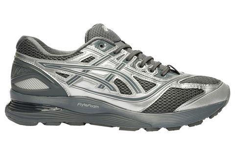 Shoe, Footwear, Running shoe, Outdoor shoe, White, Athletic shoe, Walking shoe, Black, Cross training shoe, Product,