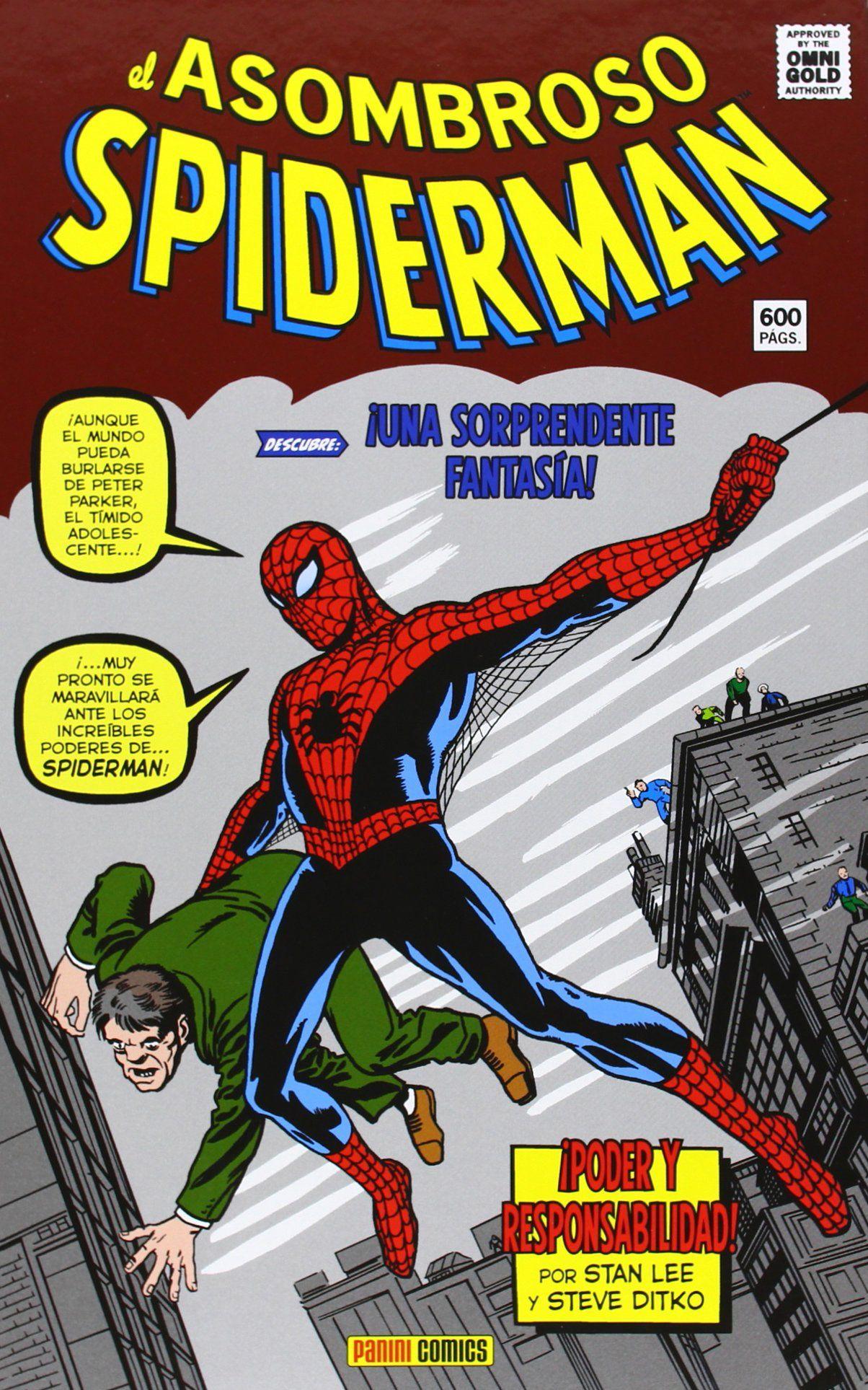 El Asombroso Spiderman. ¡Poder Y Responsabilidad! (Marvel Gold)Tapa dura StanLee