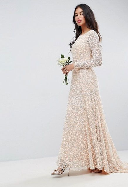 Wedding dresses with sleeves - winter wedding dresses