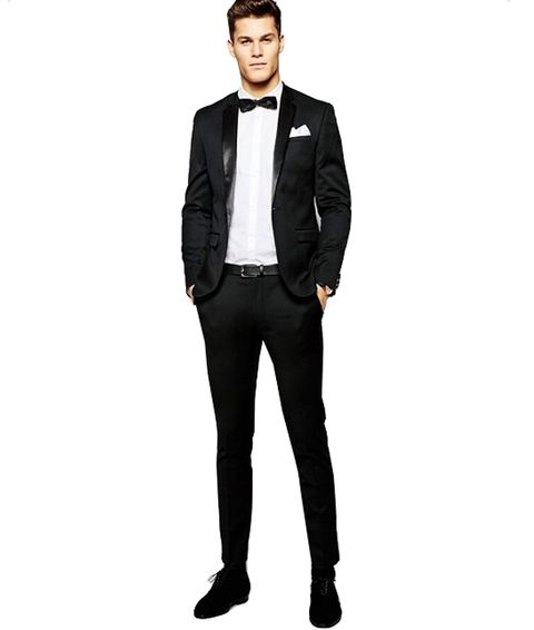 Suit, Clothing, Formal wear, Tuxedo, Blazer, Outerwear, Standing, Jacket, Suit trousers, Footwear,
