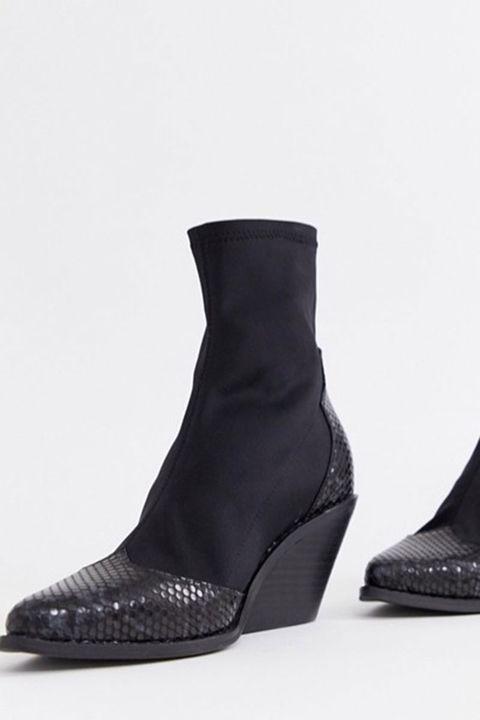 Wide fit boots, asos