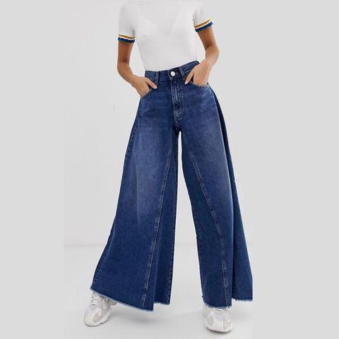 Asos wide leg jeans