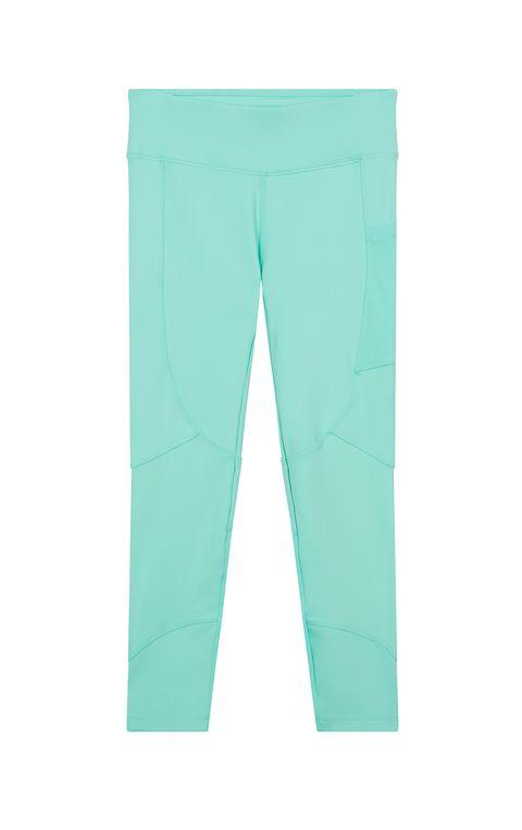 Leggings cintura alta en color menta, de Asos 4505