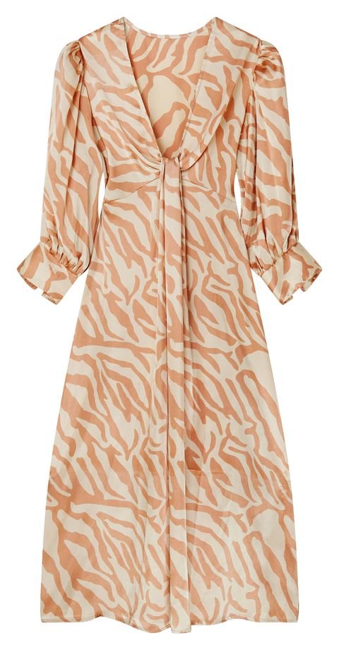 c33a358bc0 This Zebra Print Dress Is The First Cult High-Street Dress Of Spring