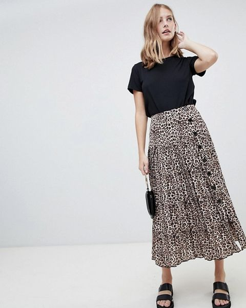 d32830c16 Tesco Is Selling A Leopard Print Midi Skirt For Just £22