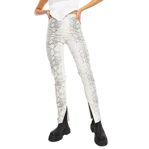 leggings met split trend