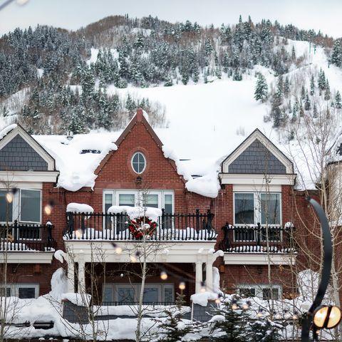 Aspen Colorado Winter Downtown