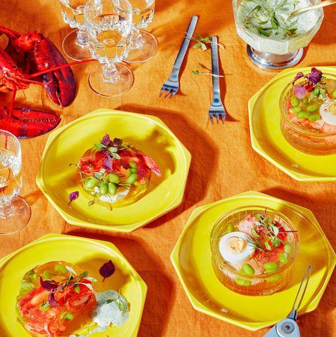 Aspic de homard