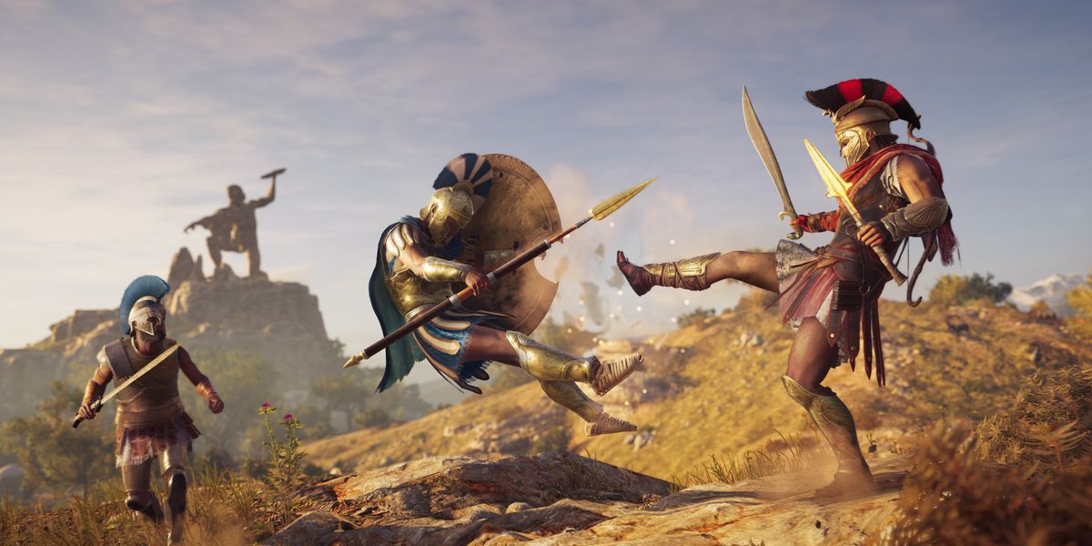 Assassin's Creed Odyssey game play