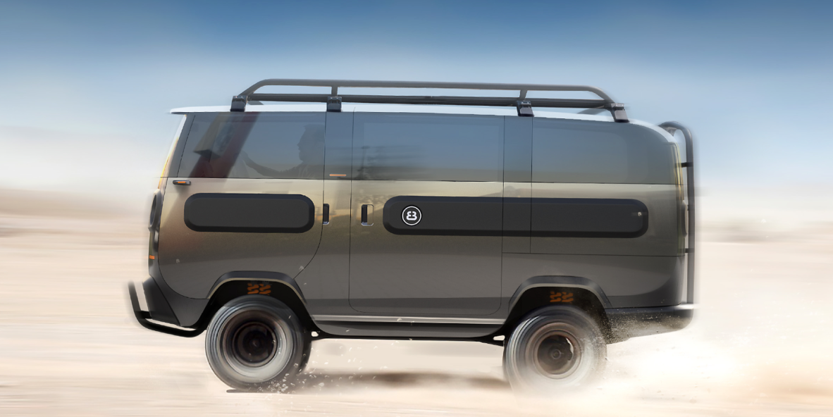 This New Electric Van Can Turn Into 10 Different Types of Vehicles