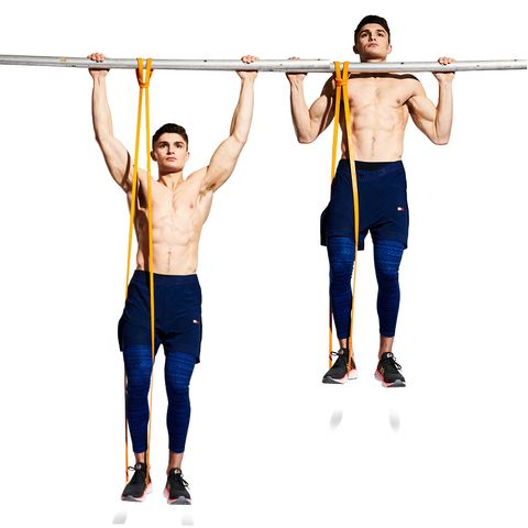 James Bond Workout: Assisted Pull-Ups