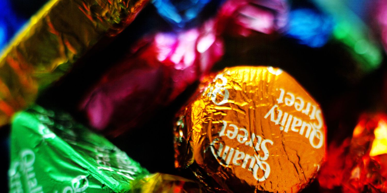 Assorted Quality Street chocolates