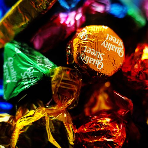 Quality Street chocolate missing honeycomb crunch
