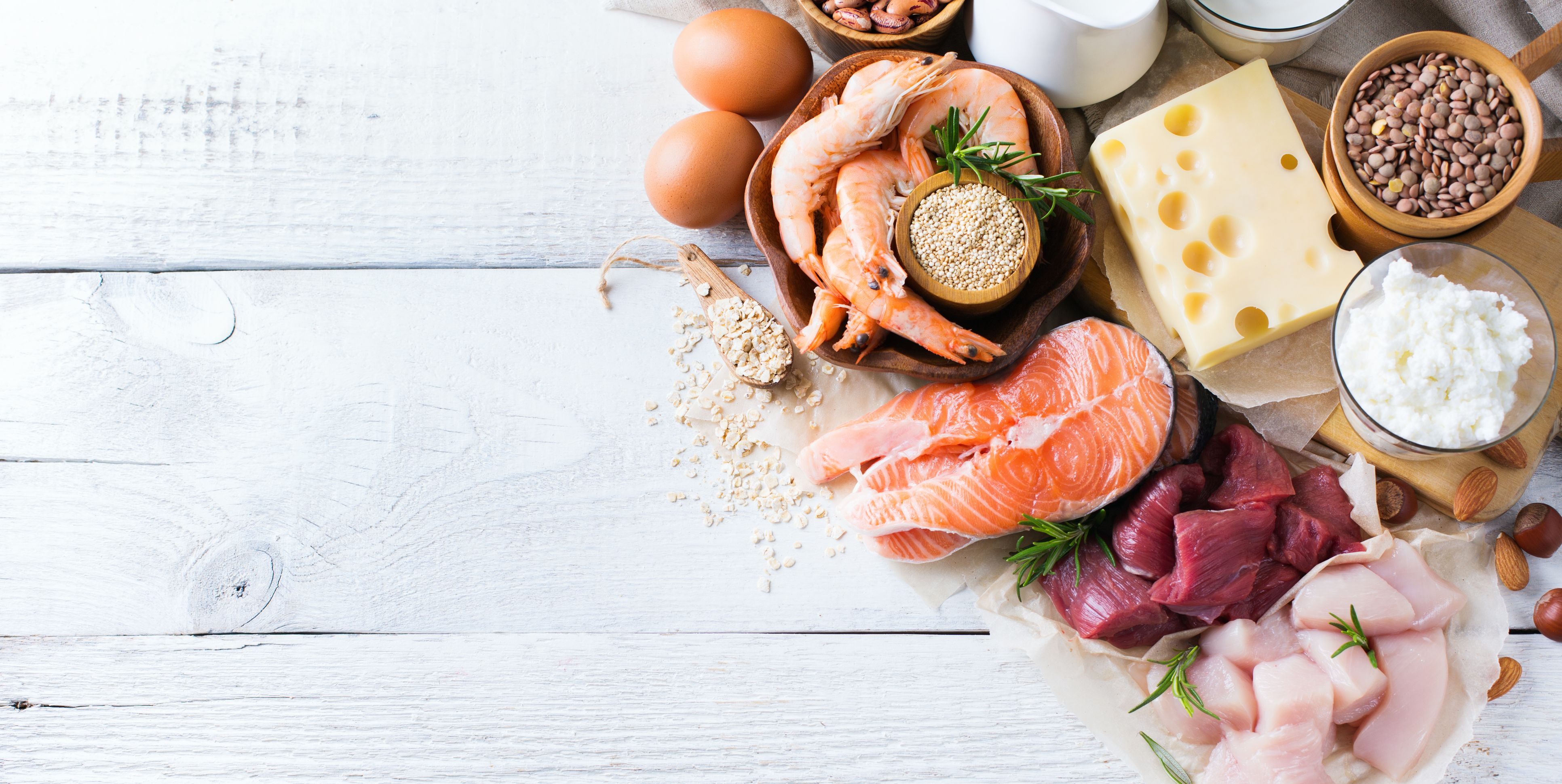 bestpsources of roteinand body building food