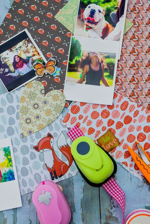 mothers day activity ideas - scrapbook