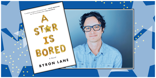 byron lane, author of a star is bored and the book cover