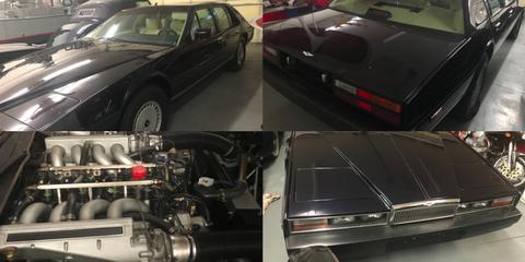 Land vehicle, Vehicle, Car, Sedan, Aston martin lagonda, Personal luxury car, Full-size car, Coupé, Performance car, Classic car,
