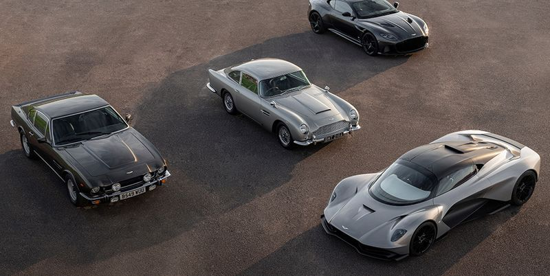 Every Aston Martin From 'No Time To Die' Driven, Reviewed And Explained