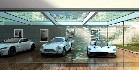 Aston Martin Will Make You a Custom Lair for Your Cars (That's a Garage)