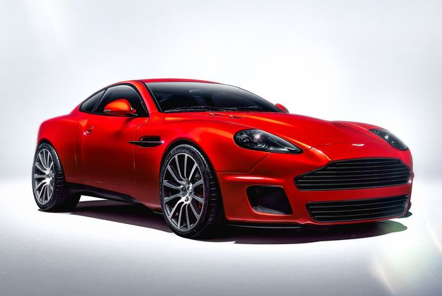 the aston martin vanquish callum 25 by r reformed remade sports car