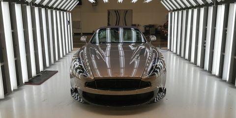Jeremy Corbyn Visits The Aston Martin Factory