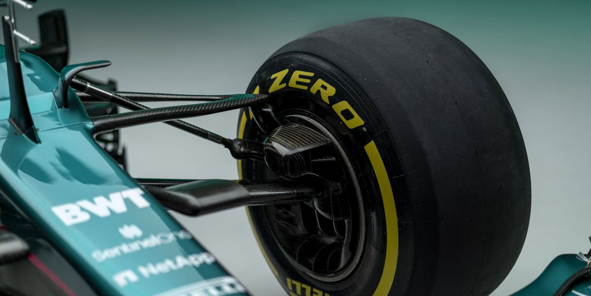 FIRST LOOK: Aston Martin's new F1 car