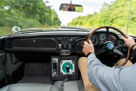 Aston Martin Db5 Goldfinger Continuation Fake Guns But A Real Db5
