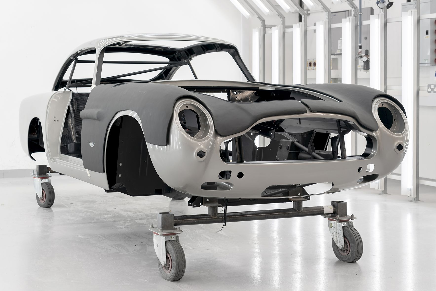 Aston Martin Starts Production Of Its Goldfinger Db5 Continuation