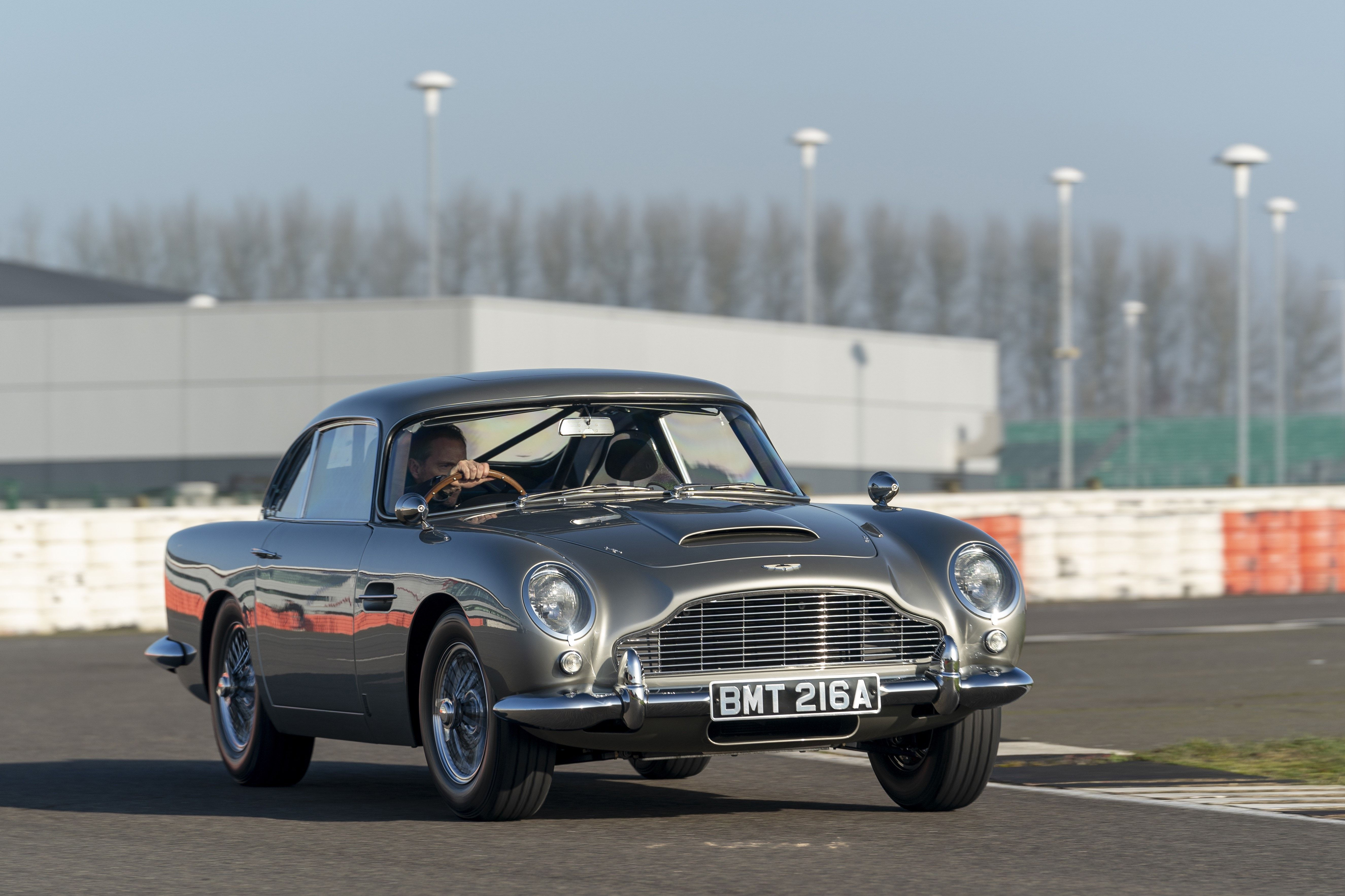 All About Aston Martin Db5 And Its Driver In New James Bond Movie