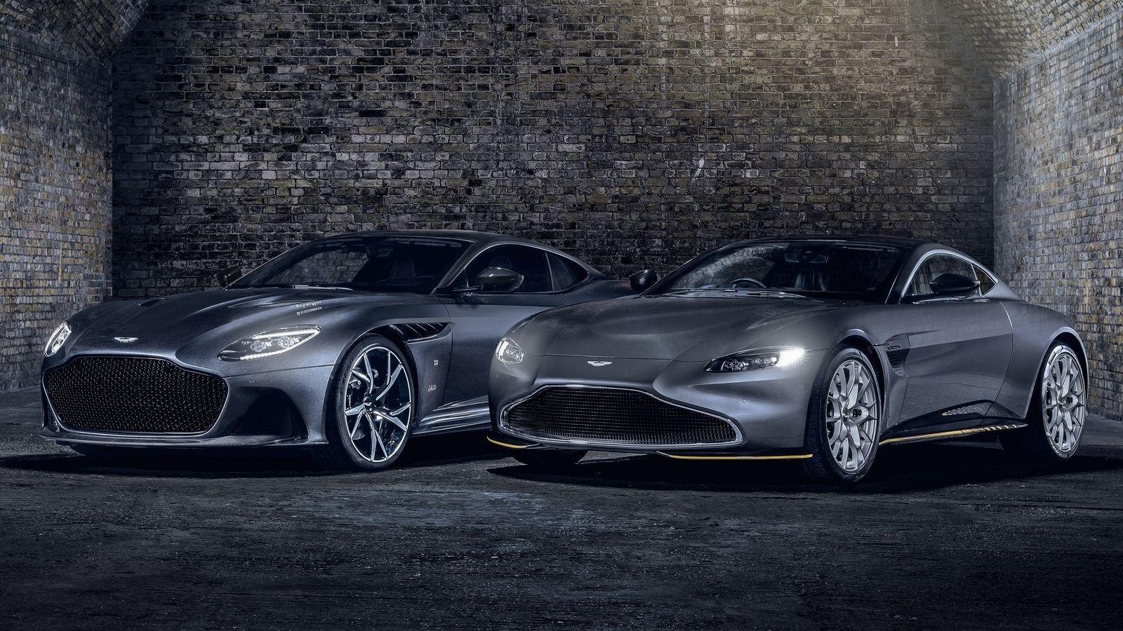 Aston Martin Vantage Y Dbs Superleggera 007 Edition Los Juguetes De James Bond