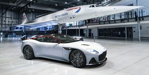 Aston Martin DBS Superleggera Concorde Edition y Concorde