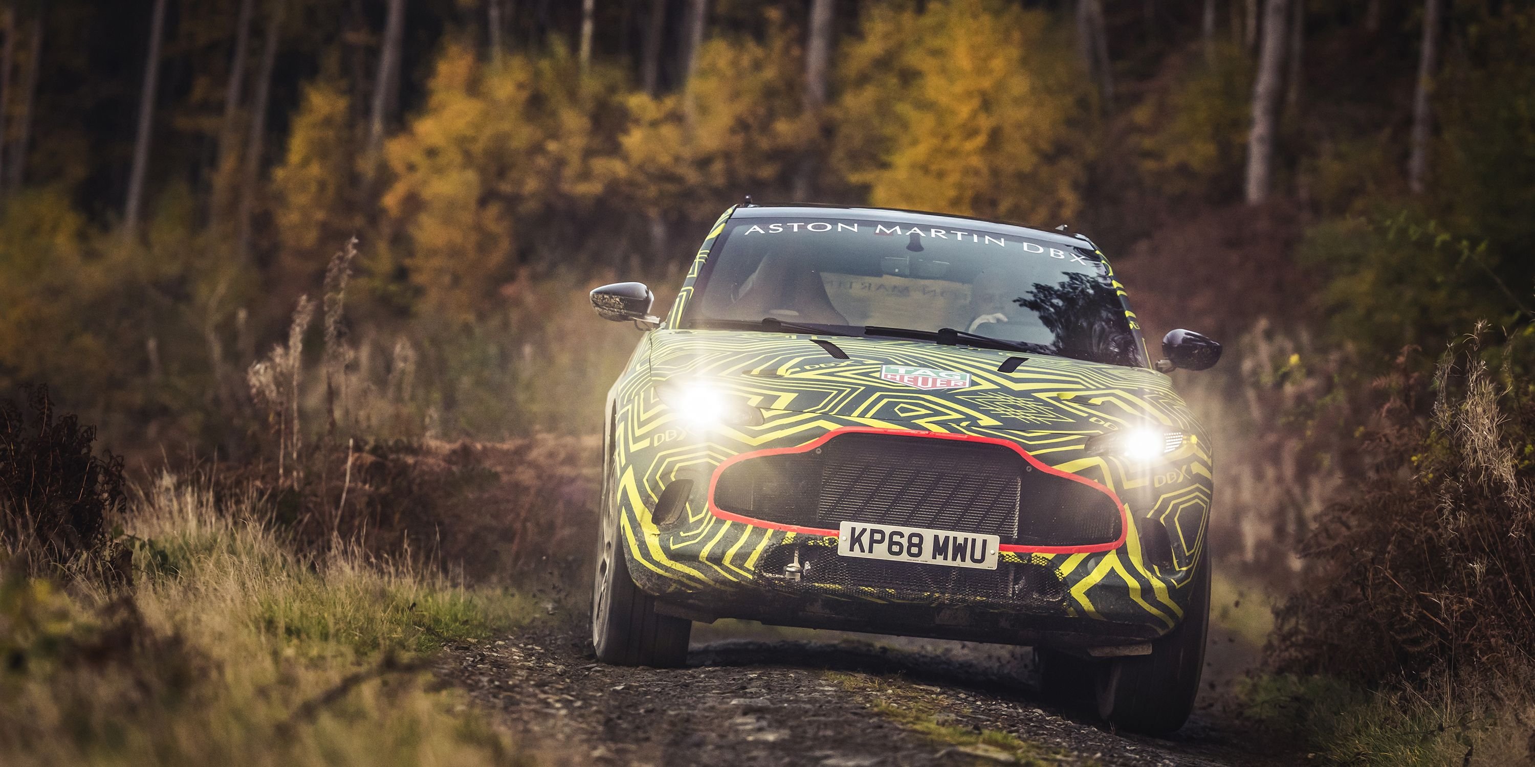 2020 Aston Martin Dbx Spy Photos First Look At New Aston Suv