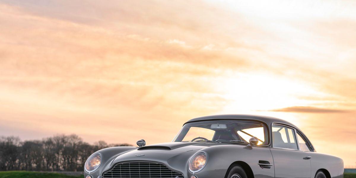 See Photos of the James Bond Aston Martin DB5