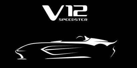 Aston Martin V12 Speedster Revealed in Sketch
