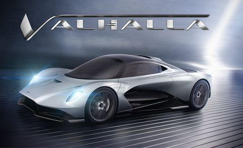 Aston Martin Names Its Next Mid-Engined Hypercar the Valhalla