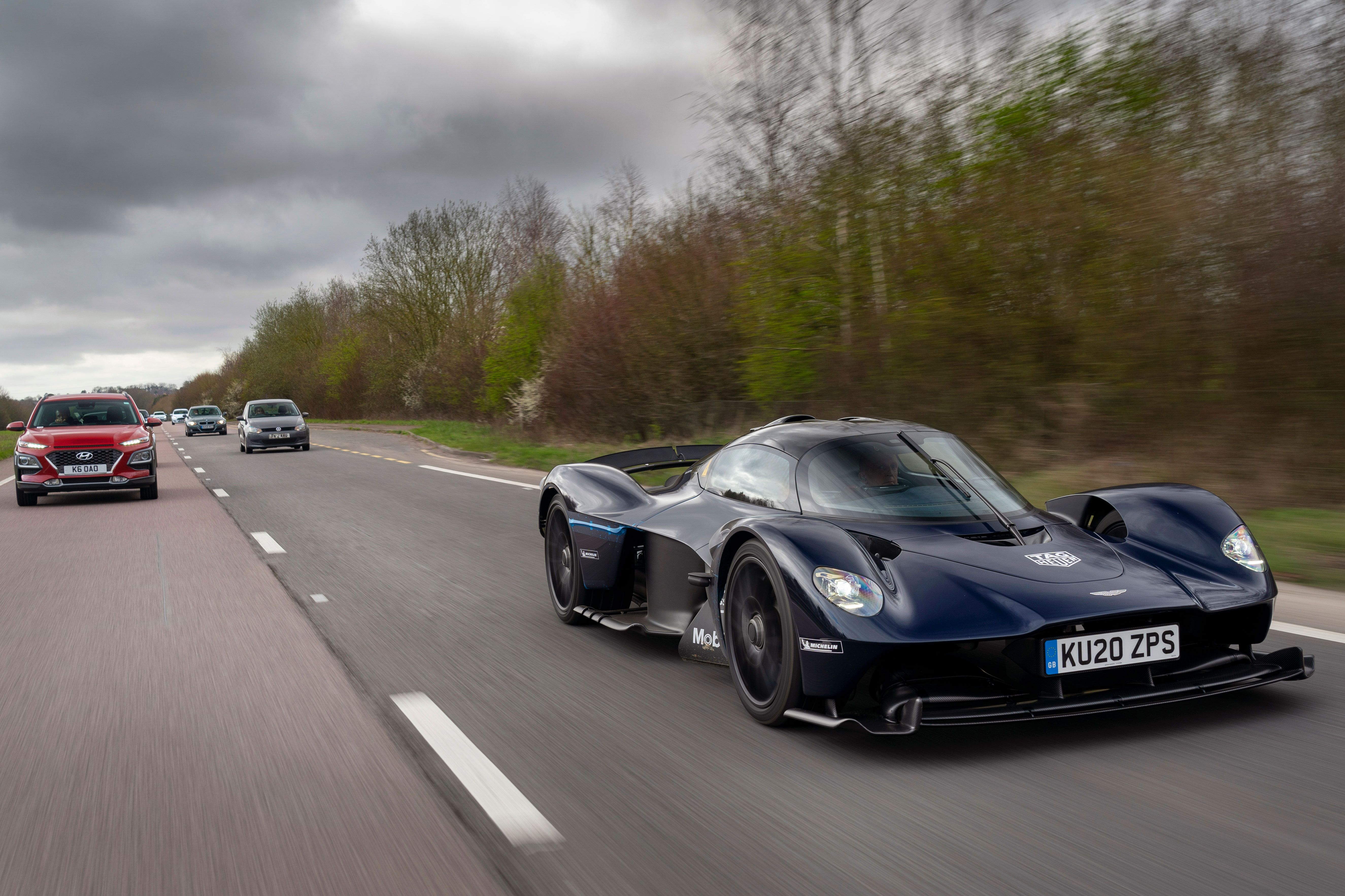 Here S The Aston Martin Valkyrie On The Road As It Was Meant To Be