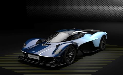 2020 Aston Martin Valkyrie front