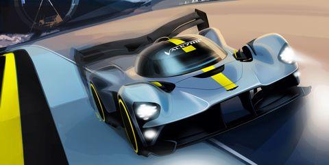 2020 Aston Martin Valkyrie Le Mans Race Car Won T Be A Hybrid