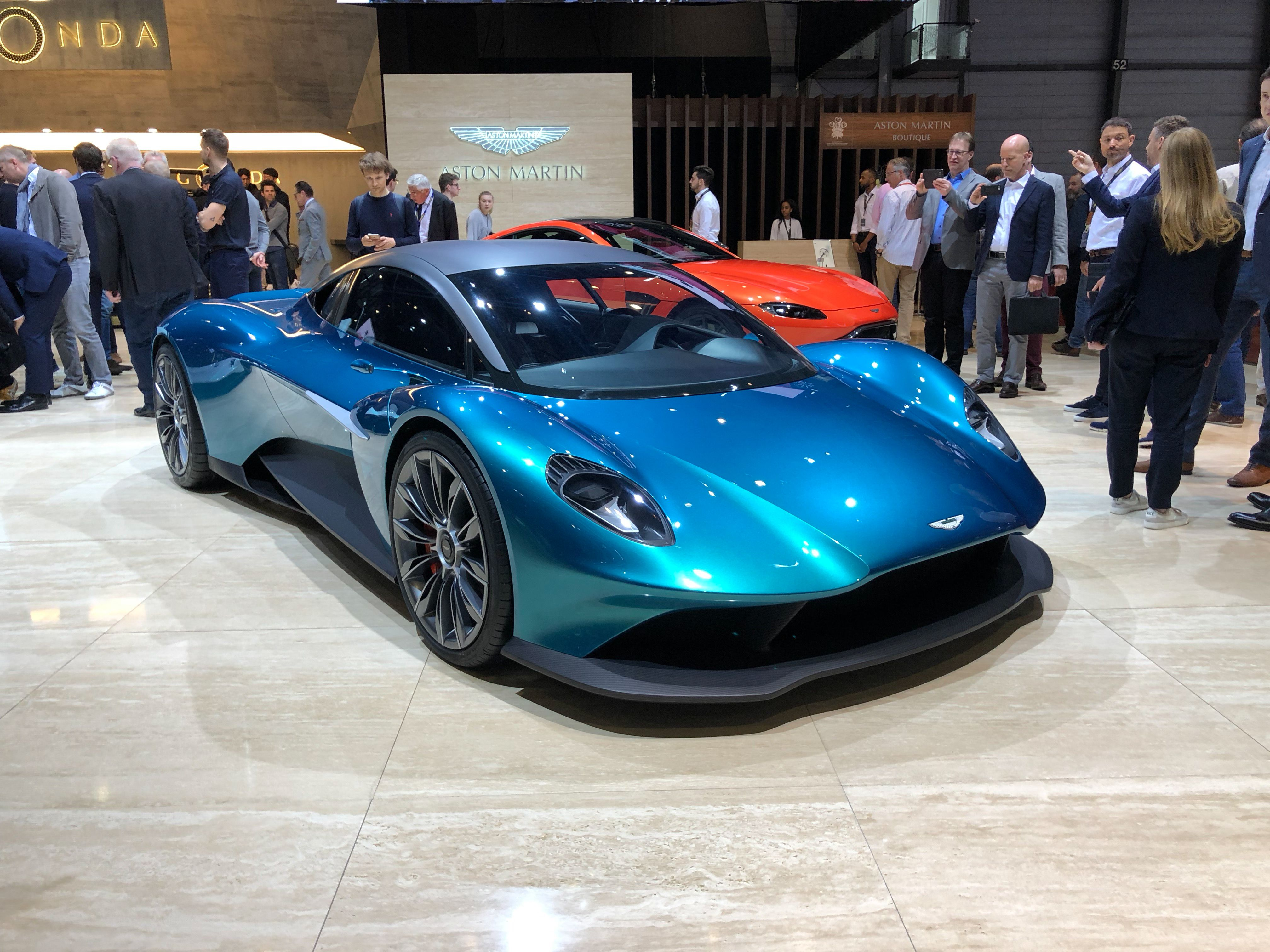 Aston Martin Vanquish Vision Concept Has Ferrari And Mclaren In Its Sights