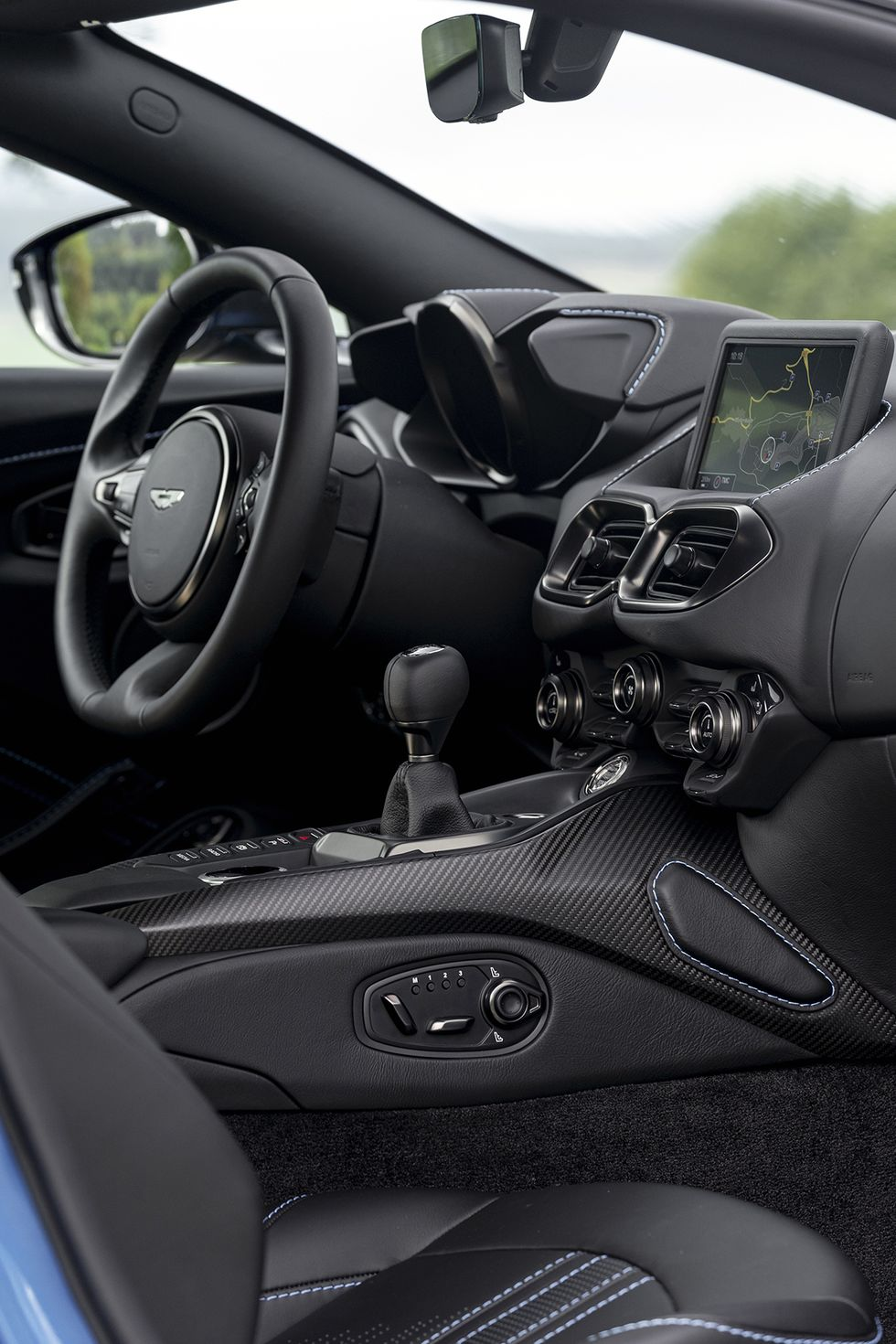 Aston Martin Is Abandoning the Manual Transmission Even Though It Promised Not To
