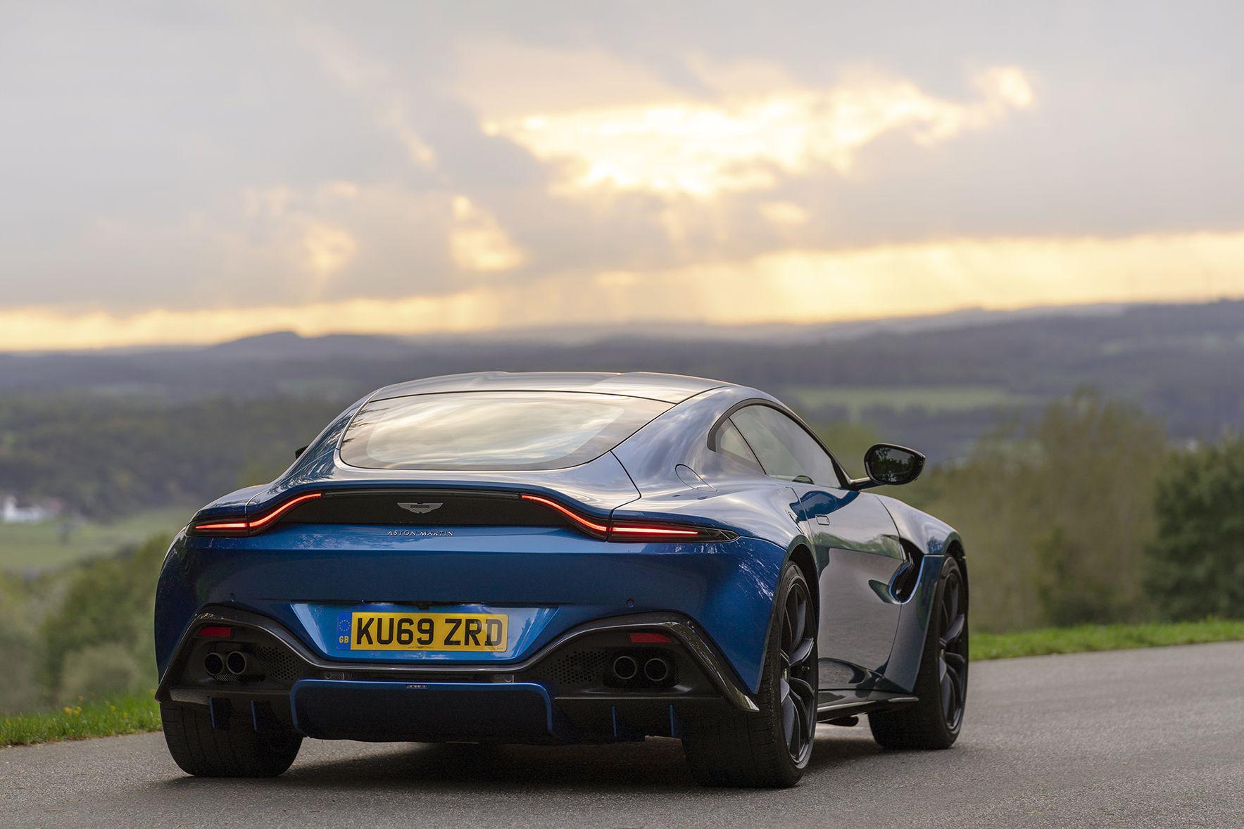 The Manual Aston Martin Vantage Amr Pulls Effortlessly
