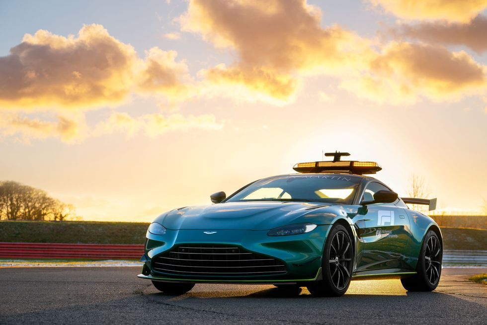 This Is Aston Martin S New Formula 1 Safety Car