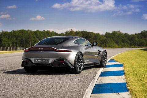 Aston Martin Vantage New Aston V Vantage - 2018 aston martin